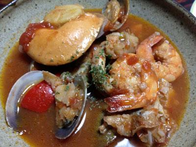 魚介のトマトスープ3