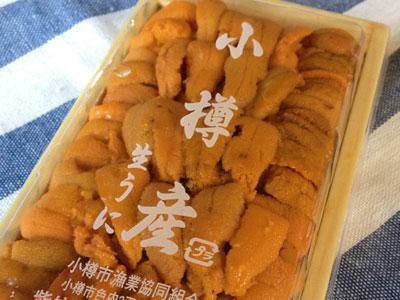 小樽産ウニ1